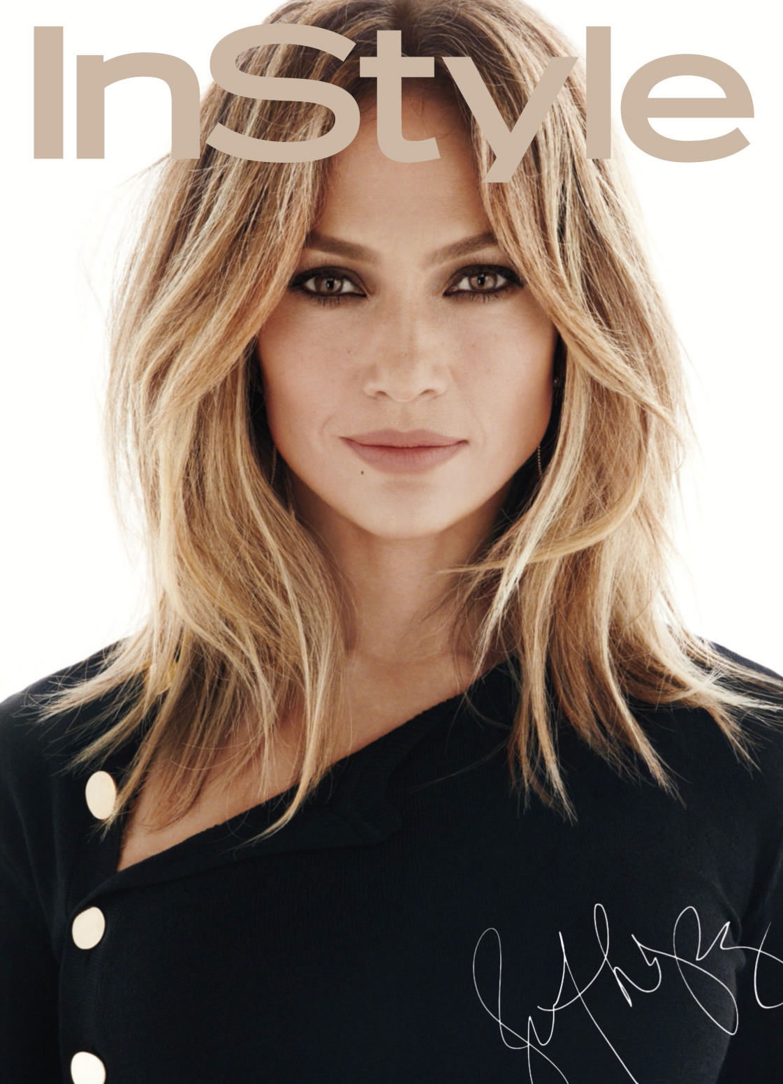 Jennifer Lopez InStyle Magazine February 2016 ...