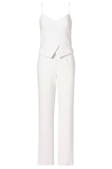 What To Wear To An All White Party Trina Turk White Jumpsuit